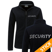 Security/Polizei Damen Fleecejacke bestickt (S201)