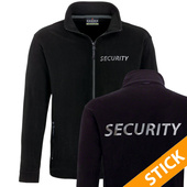 Security/Polizei Fleecejacke bestickt (S201)