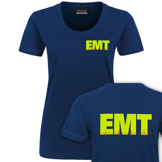d784dc5d8063b3 EMT-CEG - Rettungsdienst Damen T-Shirt (F56)